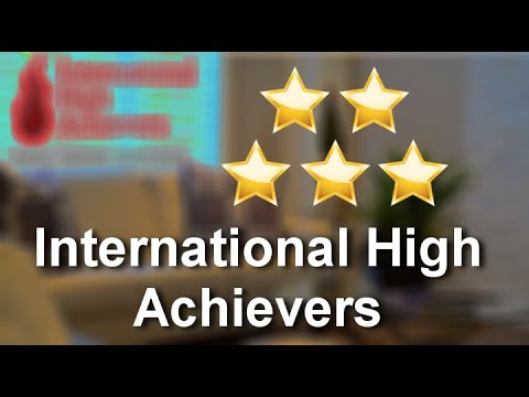 International High Achievers ChicagoExcellent5 Star Review by Scott from Illinois