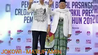 Download Video Lagu JOKOWI - MA'RUF AMIN ( Salam 2 Periode ) MP3 3GP MP4
