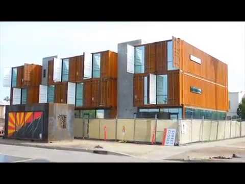 SHIPPING-CONTAINER APARTMENTS
