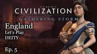 #5 Let's Play Civ 6 Victoria - England - Civilization VI Gathering Storm