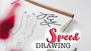 SPEED DRAWING   THE BEAUTY OF NATURE