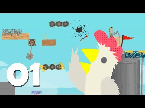 Ultimate Chicken Horse [NL] Ep.1 (Happy Tree Friends!)