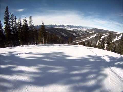 GoPro Skiing in the Rocky Mountains HD
