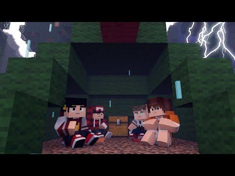 Minecraft: ACAMPAMENTO #1 - Fomos Esquecidos ‹ AM3NlC ›