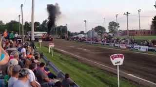 Toonerville Express Pro Field, King City MO tractor pull