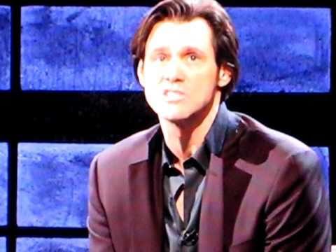 Jim Carrey singing Elvis on Inside the Actors Studio 1-10-11 2011