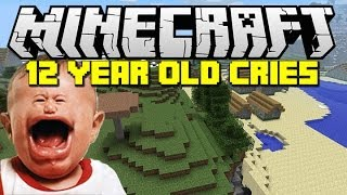 minecraft trolling a kid until he cries