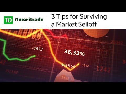 3 Tips for Surviving a Market Selloff