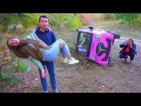 Диана ДОКАТАЛАСЬ!!! Розовой МАШИНЕ КОНЕЦ!!