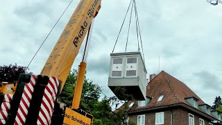 Heavy transport | Special crane | Trafostation