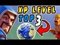 TOP 3 PLAYERS WITH HIGHEST XP LEVEL IN THE WORLD | Clash Of Clans - #ClashPot