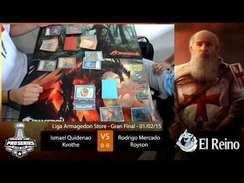 Gran Final Liga Armagedon 2015 de Mitos y Leyendas parte 1
