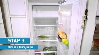 Wat moet ik doen als mijn inbouw koelkast vervangen moet worden?