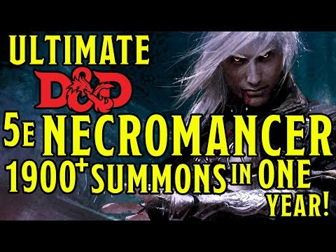 Ultimate Summon Necromancer Build & Guide - Dungeons and Dragons 5e