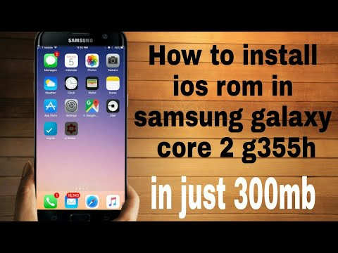 how to install ios 10 in samsung galaxy core 2 in hindi link in below watch  full video part 1