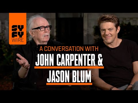 Halloween's John Carpenter & Jason Blum In Conversation Crossover  SYFY WIRE