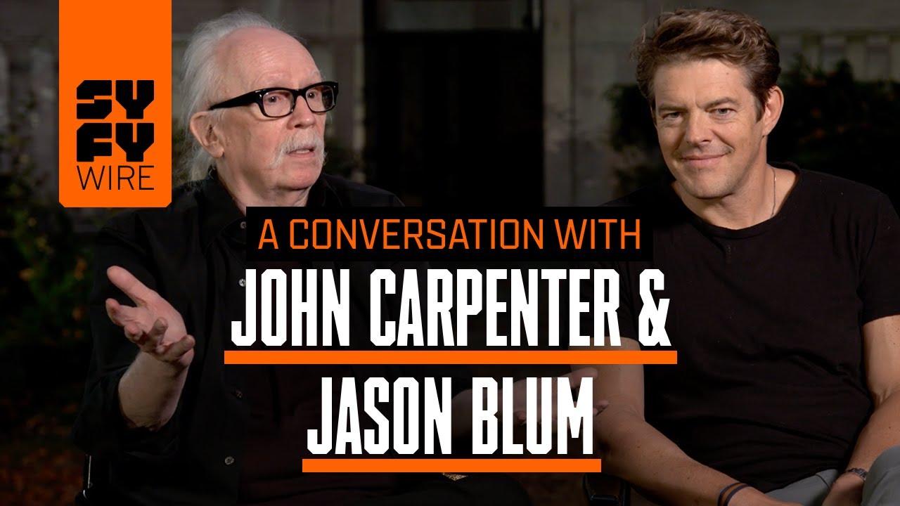 Halloween's John Carpenter & Jason Blum In Conversation (Crossover) | SYFY  WIRE