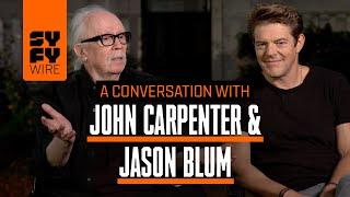 Halloween's John Carpenter & Jason Blum In Conversation (Crossover)   SYFY WIRE