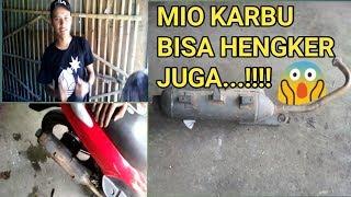 Gambar cover Bobok hengker listrik mio karbu..  #CDRknalpot