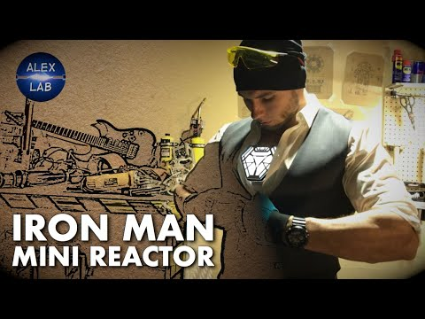 Real Iron Man Reactor. Part#1. Compact Version By Alex Lab.