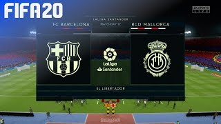 Check out this brand new fifa 20 gameplay of la liga by beatdown gaming on ps4. in match fc barcelona take rcd mallorca at el libertador! ► click her...