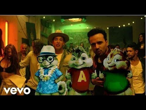 Despacito - Luis Fonsi ft Daddy Yankee (Chipmunks Version)