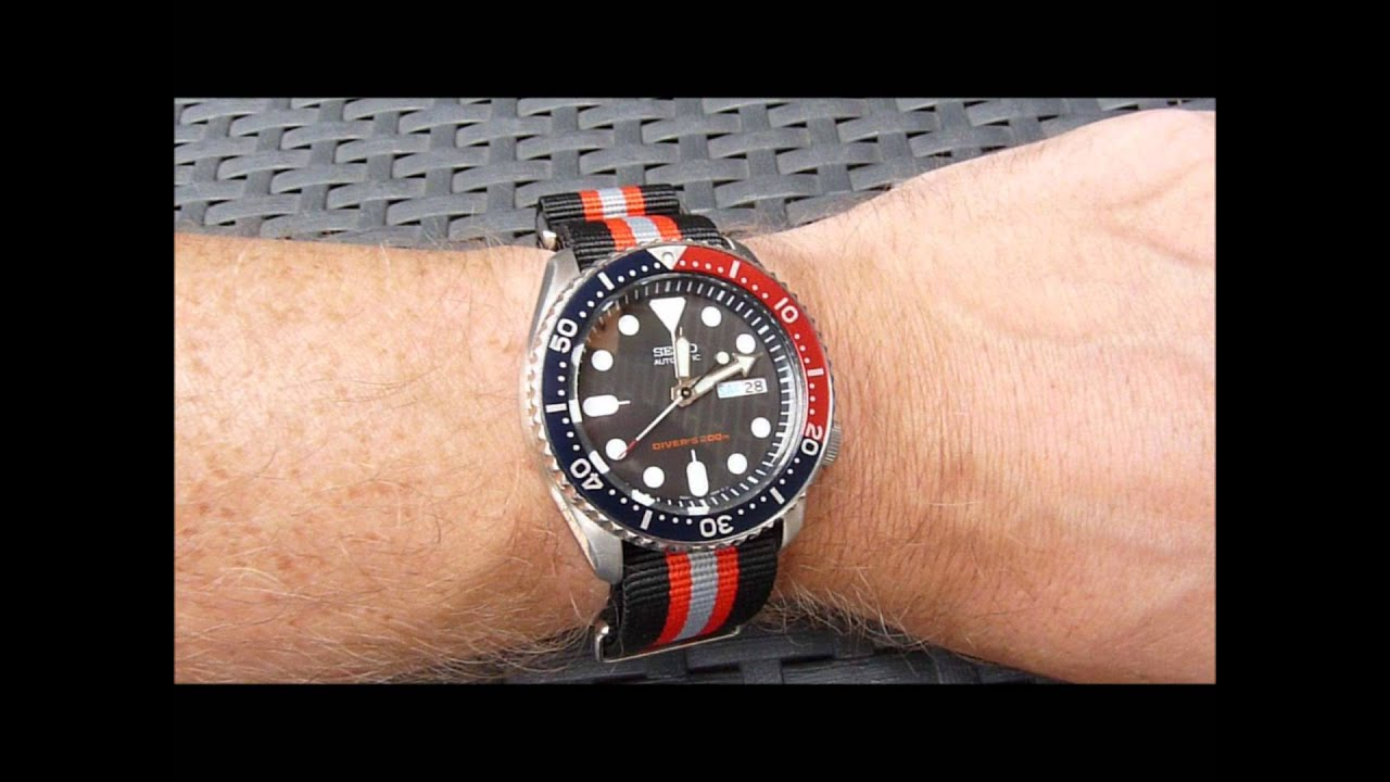 Seiko Skx 009 On 4 Different Straps Bands Youtube
