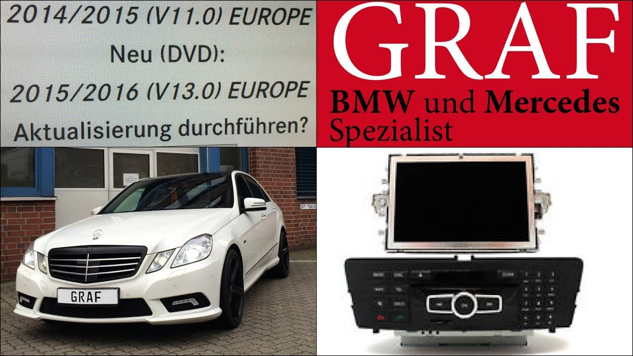 Mercedes Navigation Update NTG Navi Softwareupdate Comand Update Software  E-Klasse W212 S212