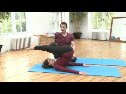 Jack Knife Prep Pilates Exercise from yoopod.com