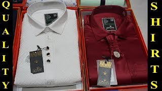 BRANDED SHIRT AT MANUFACTURE PRICE !! BOX PACKING SHIRT WHOLESALE MARKET !