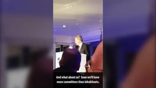 """""""Neues vom Günnddr"""" Rede von EU-Kommissar Günther Oettinger am 26. Oktober 2016 in Hamburg."""