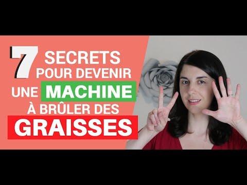 7 Secrets Pour Devenir Une Machine à Brûler Des Graisses
