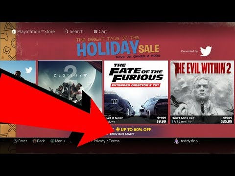 OMG PS4 Christmas Sale Week 2  The Tale of the HOLIDAY SALE