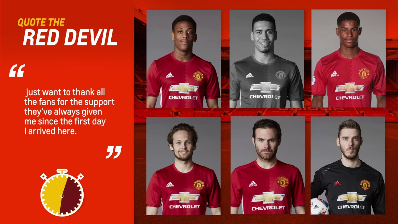 Quote The Red Devil Manchester United Chevrolet Fc Youtube