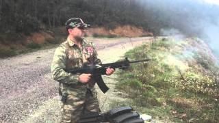 Bora br 20 şarjörlü av tüfeği ile 160 adet kurşun atışı