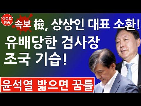 긴급! 유배당한 서울중앙지검장, '조국펀드' 관련 상상인 대표 소환! (진성호의 융단폭격)