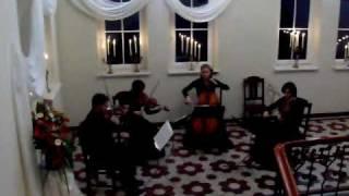 Franz Schubert  Kwartet smyczkowy g-moll D 173 Menuetto - Allegro vivace
