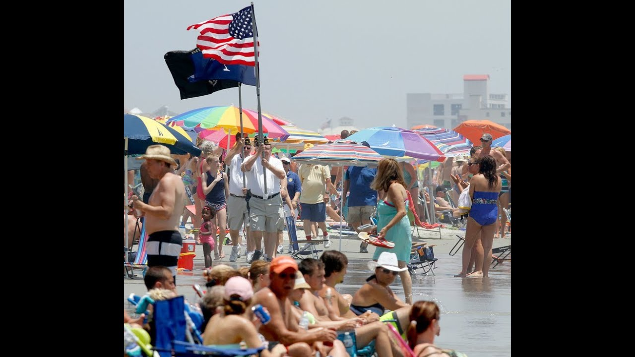 July 4th American Pride March In North Myrtle Beach You