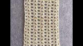 CROCHET Lace Shell Stitch #3 Tutorial | One Row Repeat