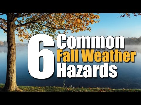 6 Common Fall Weather Hazards