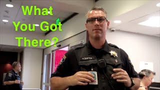Airport Police Called On Us Because Employees Don't Like Freedom Of Press-1st Amendment Audit
