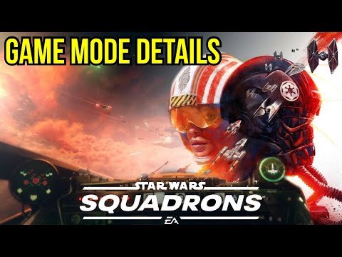 Star Wars Squadrons 5v5 Gameplay Details How it will play + Other Game modes hinted at |