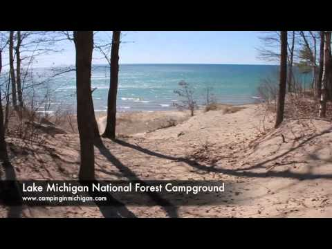 Lake Michigan National Forest Campground