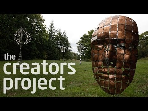 Anthony Howe's Otherworldly Kinetic Sculptures Powered by Wind | Colossal