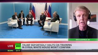 Trump reportedly to end CIA support for 'moderate' rebels in Syria