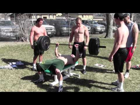 Rocky Mountain College Football Strongman Competition 2013