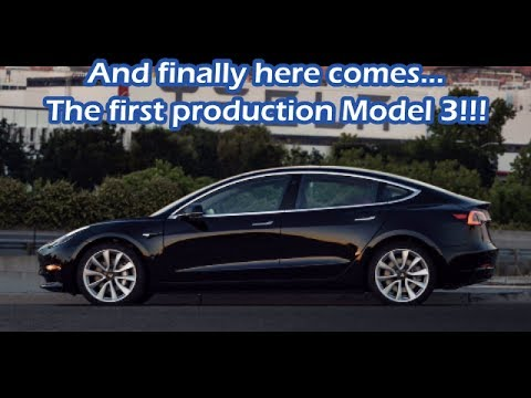 #64 Model 3 Pictures, First Production Unit, and Tesla Social Weekend!