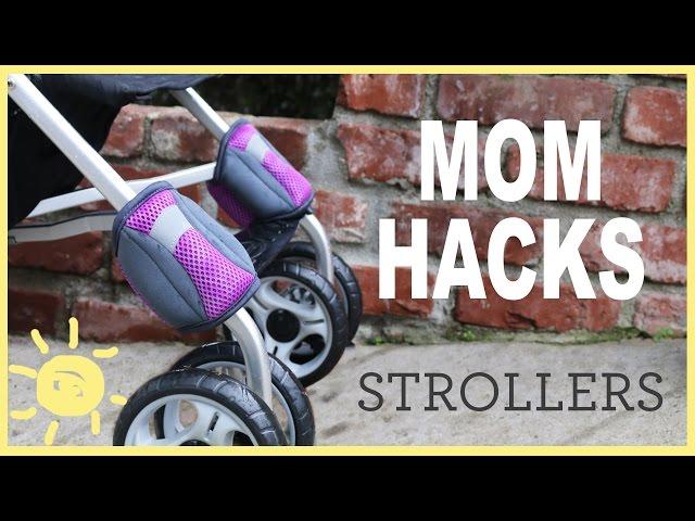 Zavezala je plastične vezice na prednji točak bebinih kolica. Razlog? GENIJALNO!