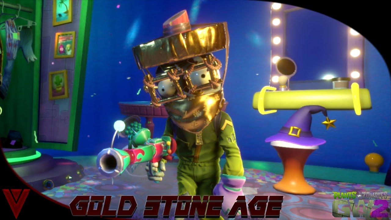 Plants Vs Zombies Garden Warfare 2 Sets   Gold Stone Age Set   Arctic  Trooper