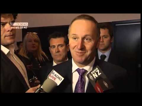 Highlights of John Key discussing Nicky Hager's book Dirty Politics